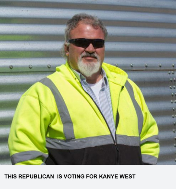 This Republican Is Voting For Kanye West